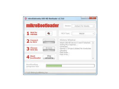 Uploading .HEX file